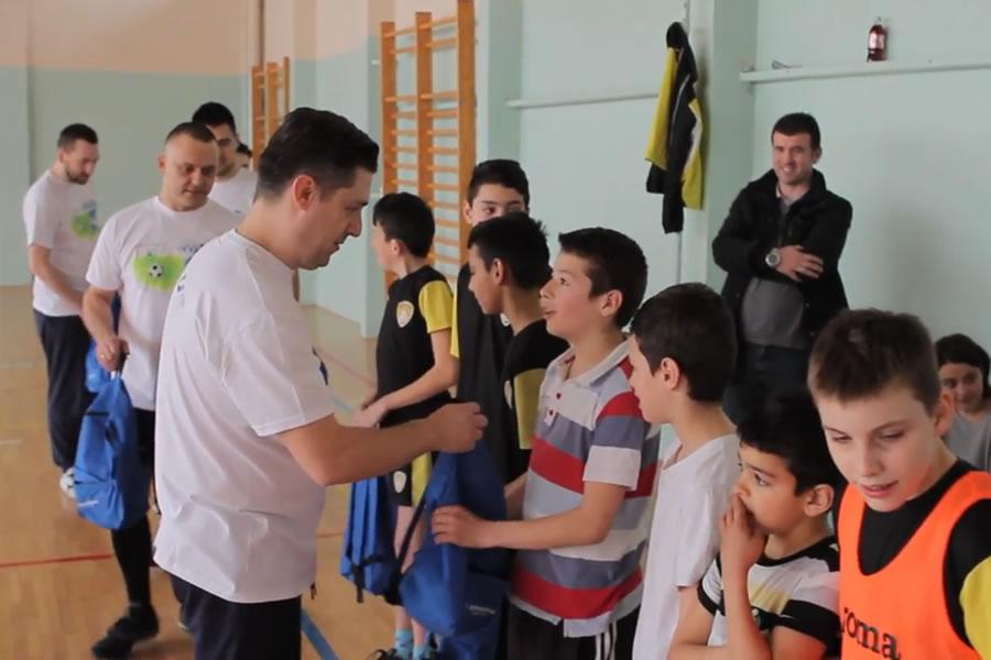 Soccer School RESPEKT sa Hypo Alpe Adria Bank