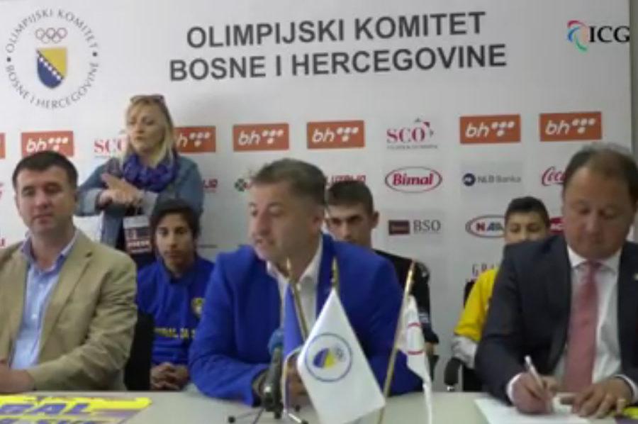 Press konferencija Škole fudbala Respekt