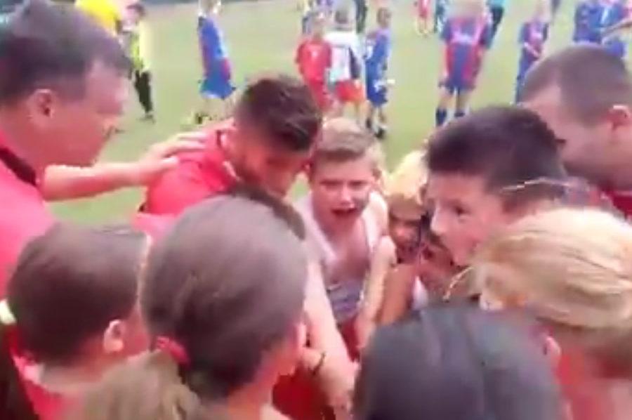 SR Fach Donaufeld - Škola Fudbala Respekt 2:2