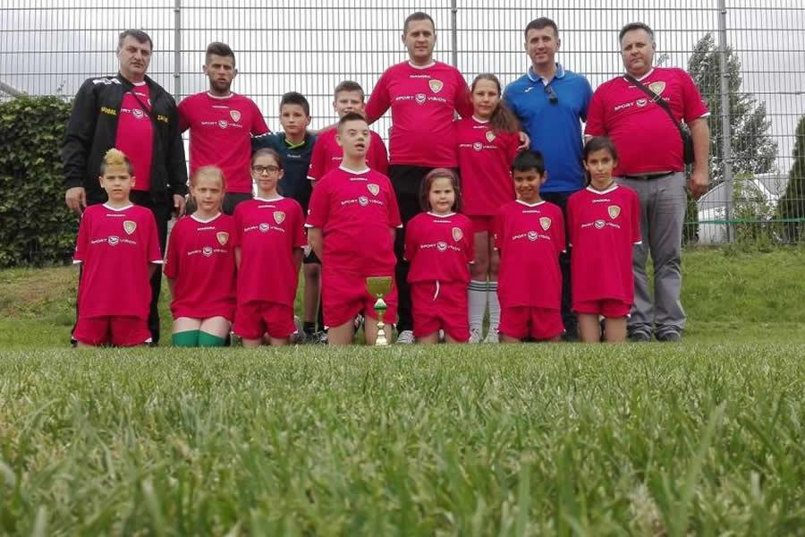Skola fudbala Respekt ucestvovala na medjunarodnom turniru u Becu