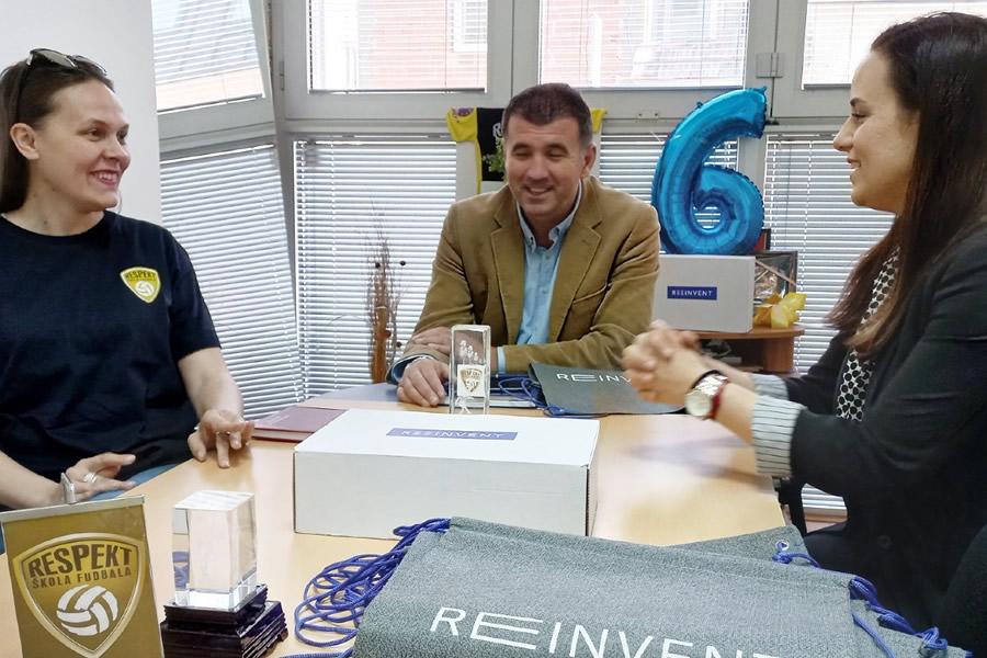 Saradnja sa kompanijom Reeinvent Sarajevo